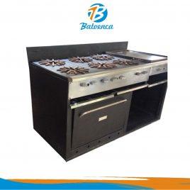 Cocina Industrial 6 hornillas P-H-G