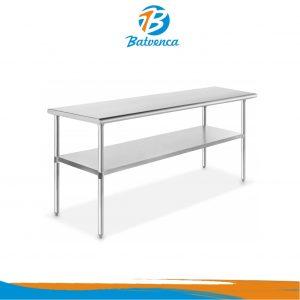 Mesas de Trabajo con Entrepaño 1.8m Steelton/Aurxiovo